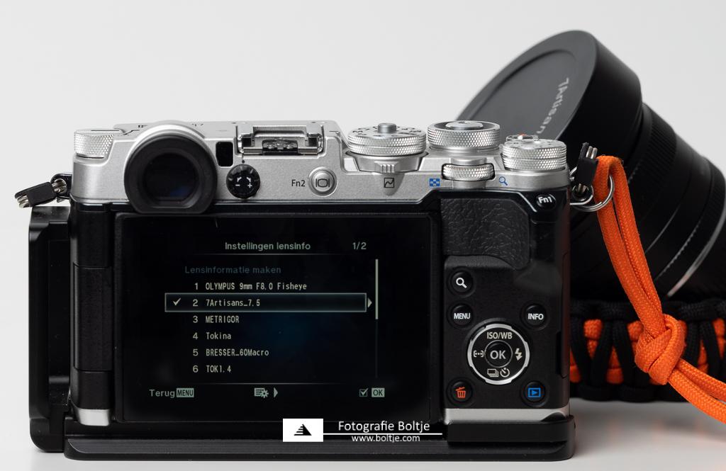 Olympus Pen-F lens profiles